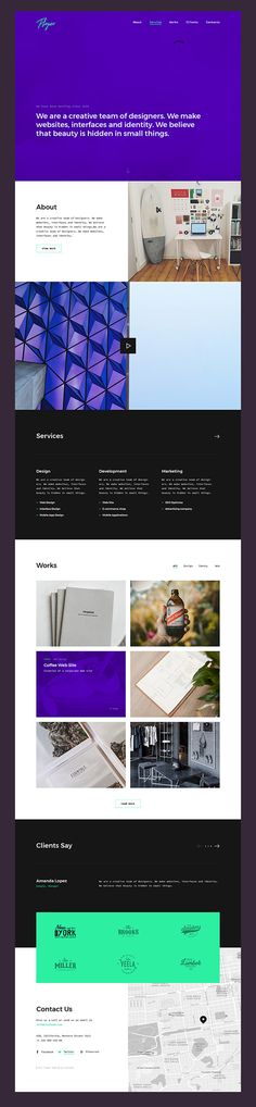 Floper #free #template- A stylish, modern, eye-catching #HTML template for a personal portfolio, covering all the needs of your business, whether you've just started it or dreaming of promoting it to a higher level.