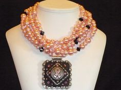 Chunky and tough enough to wear pink :) Perfect cowgirl bling!