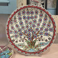 Fotoğraf açıklaması yok. Decoupage Art, Tile Art, Tile Patterns, Tree Of Life, Quilling, Ottoman, Mandala, Rugs, Floral