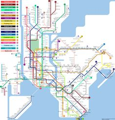 Scarsdale New York, Metro Map, Subway Map, Rapid Transit, Fantasy Map, Public Transport, Planer, New York City, Transportation