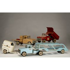 Image Detail for - Three vintage Tonka toy trucks. | Antique Helper