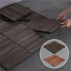 Outdoor Wood Flooring, Balcony Flooring, Flooring Tiles, Patio Tiles, Concrete Patio, Diy Patio, Backyard Patio, Outdoor Rooms, Indoor Outdoor