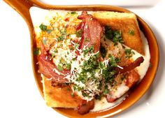 A Mini Take on the Hot Brown Sandwich