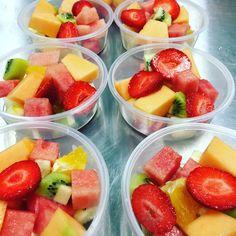Fruit salad/canteen food