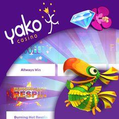 Yako Casino tarjoaa pelaajille mahtavan tervetulobonuksen - 100% bonus aina € 99 asti & 99 ilmaiskierrosta! #nettikasinot #casino2020 #onlinecasino