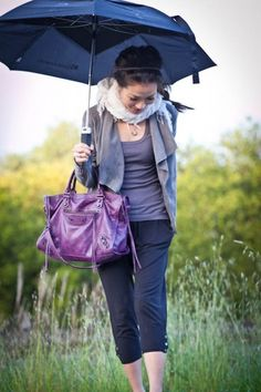 Rainy Spring outfit - There's something comfy about this outfit that I quite like!