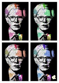 Andy Warhol, Digital drawing.