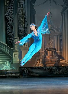 An artist of the Kiev Ballet in The Sleeping Beauty. Photo copyright: Kiev Ballet