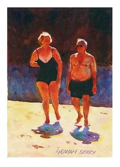 """Daily+Paintworks+-+""""No+need+to+sulk.""""+-+Original+Fine+Art+for+Sale+-+©+Graham+Berry"""