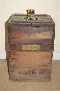 Coca Cola Syrup Crate