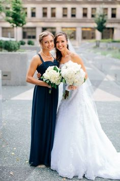 The Bride and her Maid of Honor