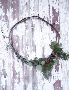 71 Best Foraged Christmas Decorations Images Christmas Wreaths