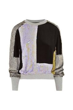 Who said a sweatshirt can't be fashionable? Find them & show this pic as proof (3.1 Phillip Lim)