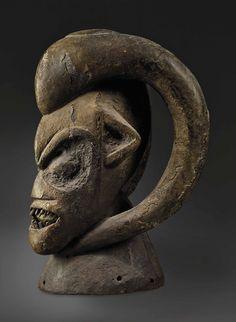 Bangwa Ngkpwé Headdress, Cameroon Art Africain, African Masks, Headdress, Dessert, Dufour, Michel, Expressionism, Paris, Collection