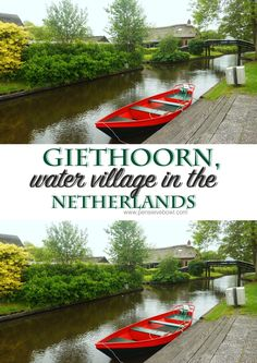 Giethoorn water village Netherlands
