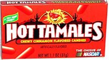 hot tamales. I used to eat these by the handful while writing papers during college.
