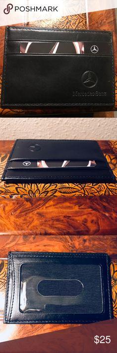 959da034b14 Mercedes-Benz Leather Wallet NEW Mercedes-Benz Leather Wallet