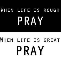 WEBSTA @ beewademua - Never let your circumstances control your prayer life. #prayedup