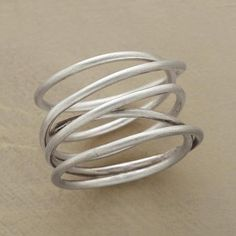 'Twists and Turns' ring; sterling silver; $68USD; item 61183; at SundanceCatalog.com