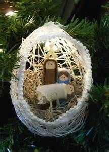Homemade Nativity or - Bing Images