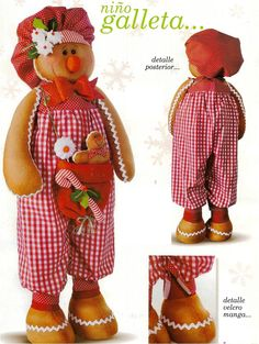 Bello Niño Galleta Navidad (WEB) Gingerbread Crafts, Christmas Gingerbread Men, Gingerbread Decorations, Christmas On A Budget, Christmas Themes, Christmas Decorations, Christmas Sewing, Christmas Crafts, Jingle Bells