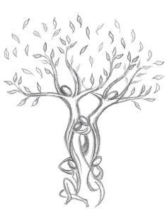 Centro Studi EOS: Conferenza on line - Nomad Winterhawk in diretta Mother Tattoos, Sister Tattoos, Tree Of Life Art, Tree Art, Life Tattoos, Body Art Tattoos, Tatoos, Roots Drawing, Tree Roots Tattoo