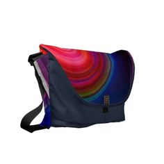 Messenger Bag Medium Abstract Collection 10