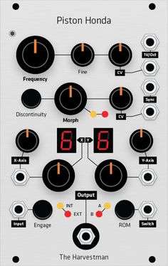 Grayscale | Eurorack Modular Synthesizer Panels