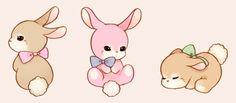 25 Ideas for cute animal art kawaii anime characters Art Kawaii, Kawaii Bunny, Cute Animal Drawings Kawaii, Cute Little Drawings, Kawaii Doodles, Cute Doodles, Cute Bunny, Cute Drawings, Kawaii Anime