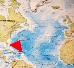The Bermuda Triangle stretches from the Straits of Florida to San Juan, Puerto Rico, and to Bermuda in the mid-Atlantic. In this large area, there have been dozens of shipwrecks and plane crashes, with the first having been reported on Sept 16, 1950. Many of these incidences have been associated with paranormal activity, extraterrestrial kidnappings, and unusual weather.