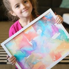 Tissue paper art is not only gorgeous, it's totally easy enough for kids to make! Fun kid's art project - perfect indoor activity for rainy days. Easy Kids Art Projects, Easy Art For Kids, Crafts For Kids, Sewing Patterns Free, Free Sewing, Sewing Tutorials, Sewing Projects, Free Pattern, Lilo And Stich