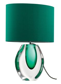 Elegant Emerald Green Perfume Bottle Lamp From InStyle-Decor.com Beverly Hills Trending Hollywood Home Decor Enjoy & Happy Pinning