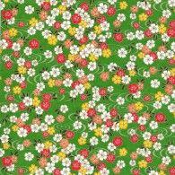 RKB8805 Spring Floral Pond Washi Paper - 8.5x11 - Bulk by Hanko Designs | www.HankoDesigns.com - 2015