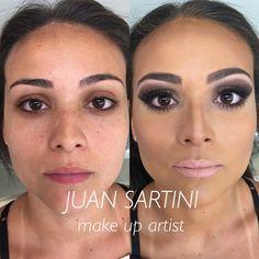 #juansartini #juansartiniarrasando #sartifiquese #fizcomjuansartini #makeup #makeupart #makeupbride #makeupartist #maquiagem #maquiagemx #maquiagemnoiva #anastaciabeverlyhills #mac #naked #vice #makeupforever #makeupbyjuansartini #limecrime #daillus #contem1g #maybelline #urbandecay Mais uma formanda! Antes e Depois de Eduarda!