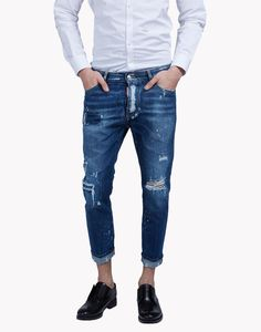 Glam Head Jeans - 5 Pockets for Men Denim Jeans Men, Blue Jeans, Denim Man, Denim Fashion, Fashion Men, Estilo Denim, Mens Gear, Club Dresses, Stylish Men
