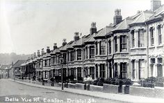 Belle Vue Road, Easton, Bristol    by brizzle born and bred Tower Block, Victorian Terrace, Old Pictures, Family History, Bristol, The Neighbourhood, Street View, Lost, Cottage