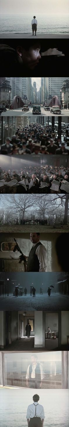 Road to Perdition (Sam Mendes, DoP: Conrad L. Hall // Cinematography in this movie is gorgeous.