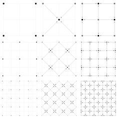 Visual description of the Diamond-Square algorithm.  (Click to magnify)