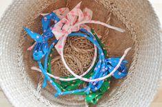 ribbon hairbands for the girls [le dans la]