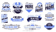 Spanish Fathers Day Badges set featuring a great variety of phrases great to show your Dad how much you love and appreciate him! Fathers Day Cake, Fathers Day Crafts, Honda Cub, Father's Day Diy, Layout Template, Printed Materials, Best Dad, Special Day, Spanish