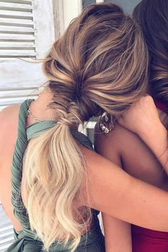 Wonderful Updos Ideas For Medium Length Hair – – Hair Styles Braids For Medium Length Hair, Prom Hair Medium, Medium Hair Styles, Natural Hair Styles, Short Hair Styles, Long Hair Ponytail Styles, Wedding Hairstyles For Long Hair, Hair Wedding, Hair Looks