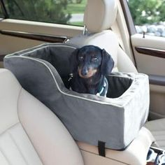 Love this dog car seat! They can ride right along beside you while you drive... Weinie would love that!   #doxie #WeinerDog #dog #daschund #DogCarseat
