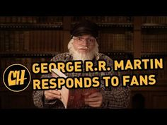 "George R.R. Martin Responds to ""Game of Thrones"" Backlash"