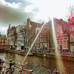 Амстердам, февраль 2017, один из многочисленных каналов :)