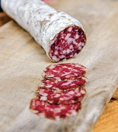 """How to make saucisson sec, a classic French dry-cured sausage, from """"The New Charcuterie Cookbook"""" by Jamie Bissonnette. (How To Make Chicken Sausage) Salami Recipes, Homemade Sausage Recipes, Charcuterie Recipes, Meat Recipes, Cooking Recipes, Sushi Recipes, Cuisines Diy, Meat And Cheese, Fermented Foods"""