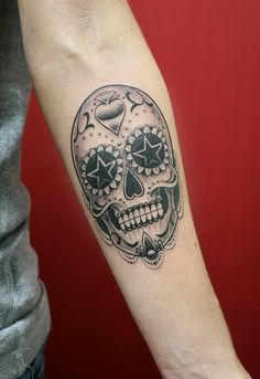 Sugar Skull by skindeepart, via Flickr