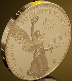 Moneda BicentenaroRev México