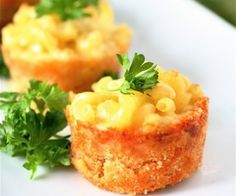 Mac 'n Cheese Appetizer -great to freeze and thaw for the kids