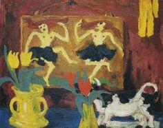 nature morte avec danseuse Emil Nolde 1914