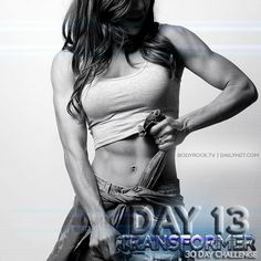 Are you ready to hiit day 13 with Sean?
